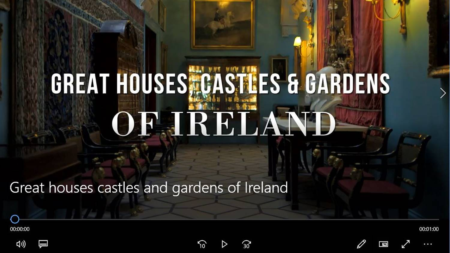 houses castles and garden tours ireland